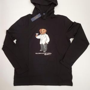 Polo Ralph Lauren Martini Bear Hooded T-Shirt